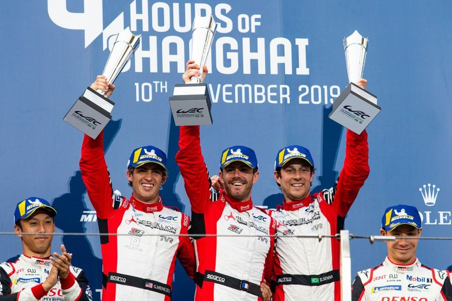 Rebellion Racing R13-Gibson takes Shanghai WEC victory