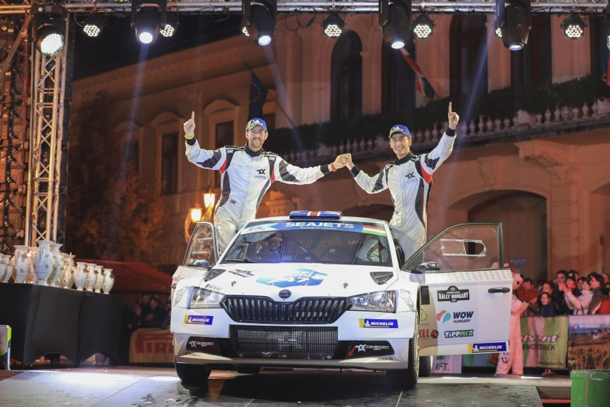 Ingram seals ERC title on Rally Hungary final stage decider