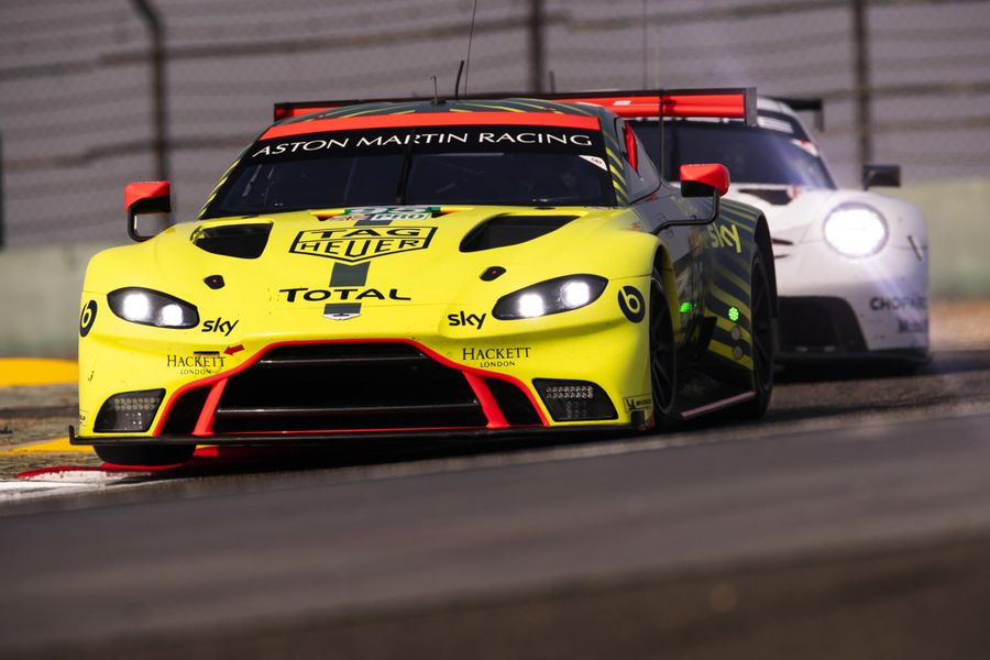 Aston Martin Vantage GTE wins WEC 4 hrs of Shanghai GTE Am