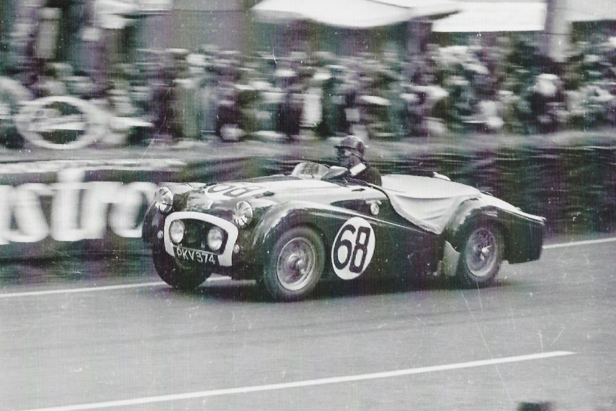 Le Mans Triumph TR2 racer sells for £258,750 Sunday at NEC Silverstone Auction