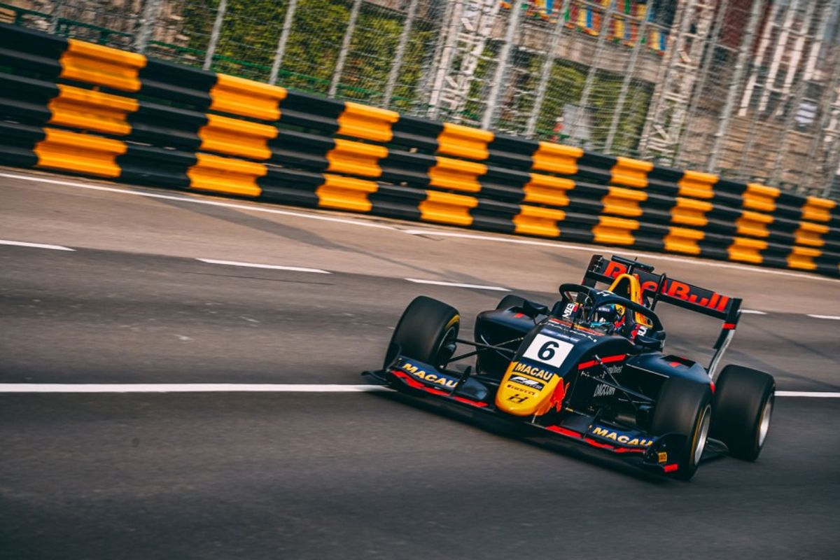 Juri Vips sets the pace in Macau F3 World Cup FP2