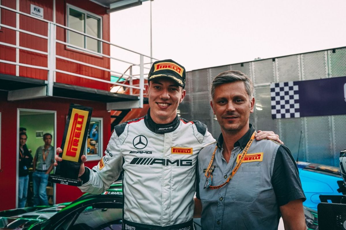 Raffaele Marciello secures FIA GT World Cup pole