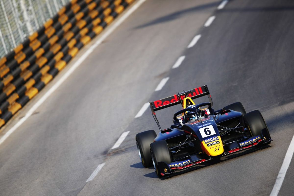 Juri Vips speeds to fastest ever lap in Macau F3 World Cup qualifying