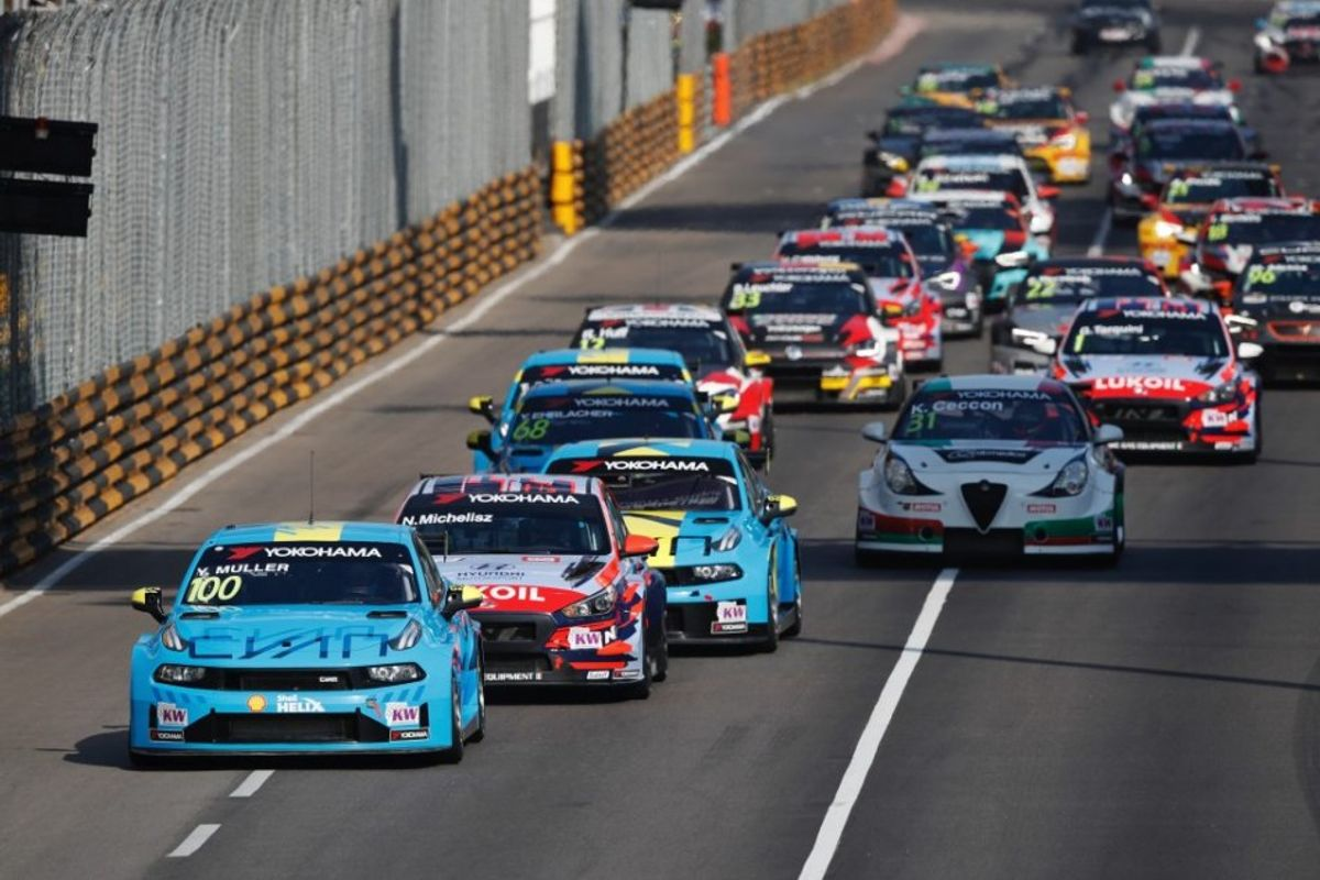 Muller wins WTCR Race of Macau Race 1