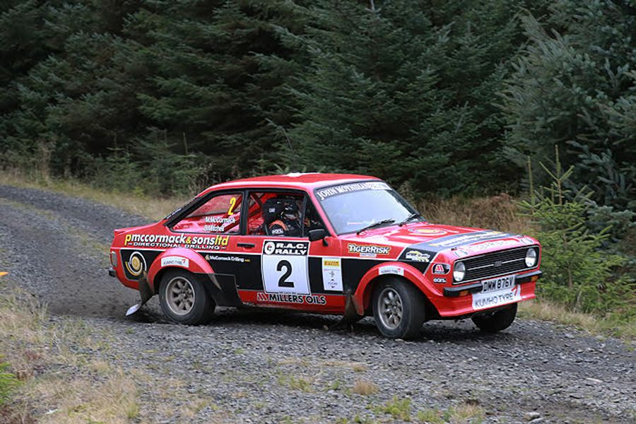 Record entry for Roger Albert Clark Rally