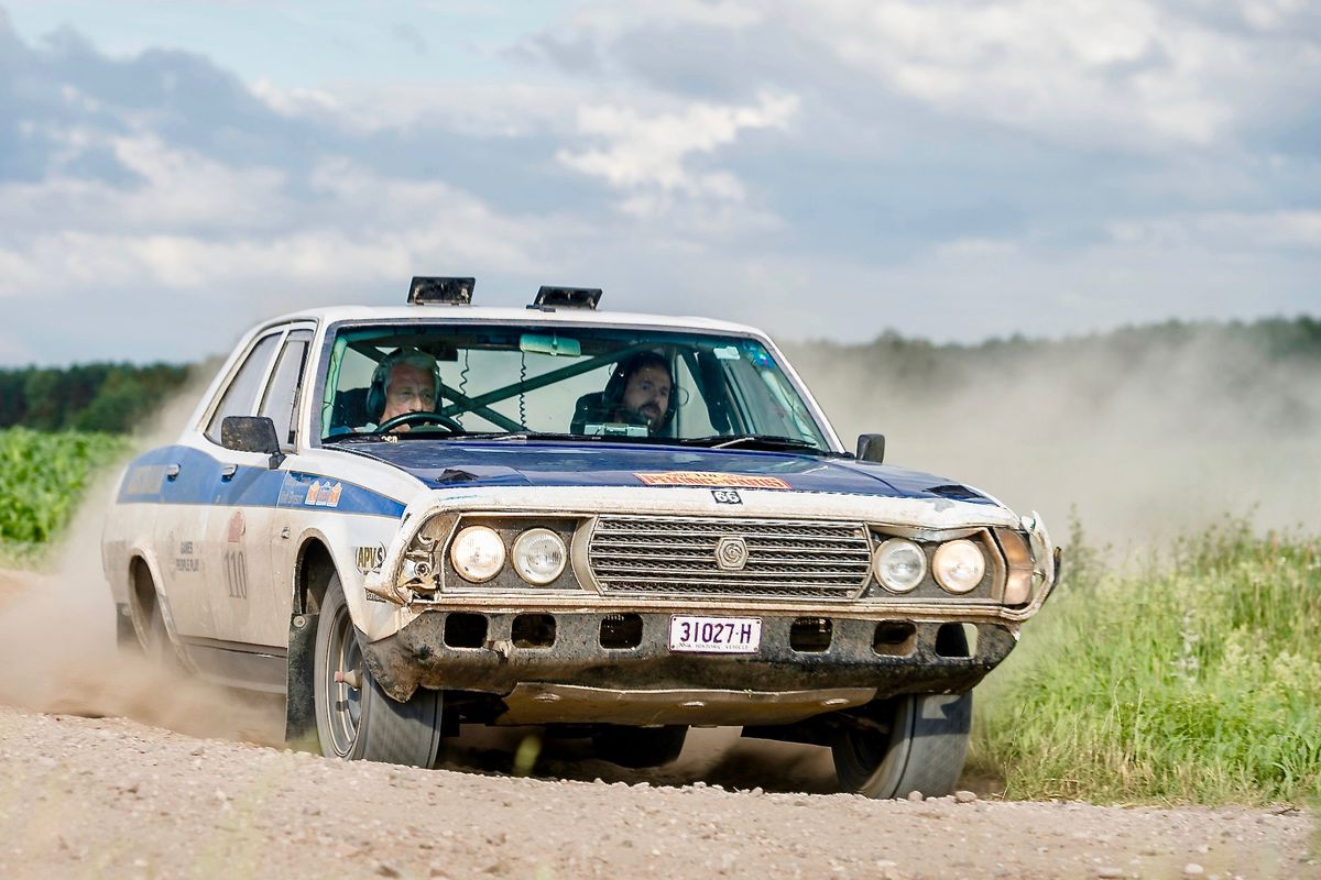 Rally legend Gerry Crown joins epic Round the World rally adventure