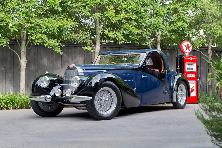 Best in Class Bugatti Type 57C Atalante Coupe at Worldwide Auctioneers