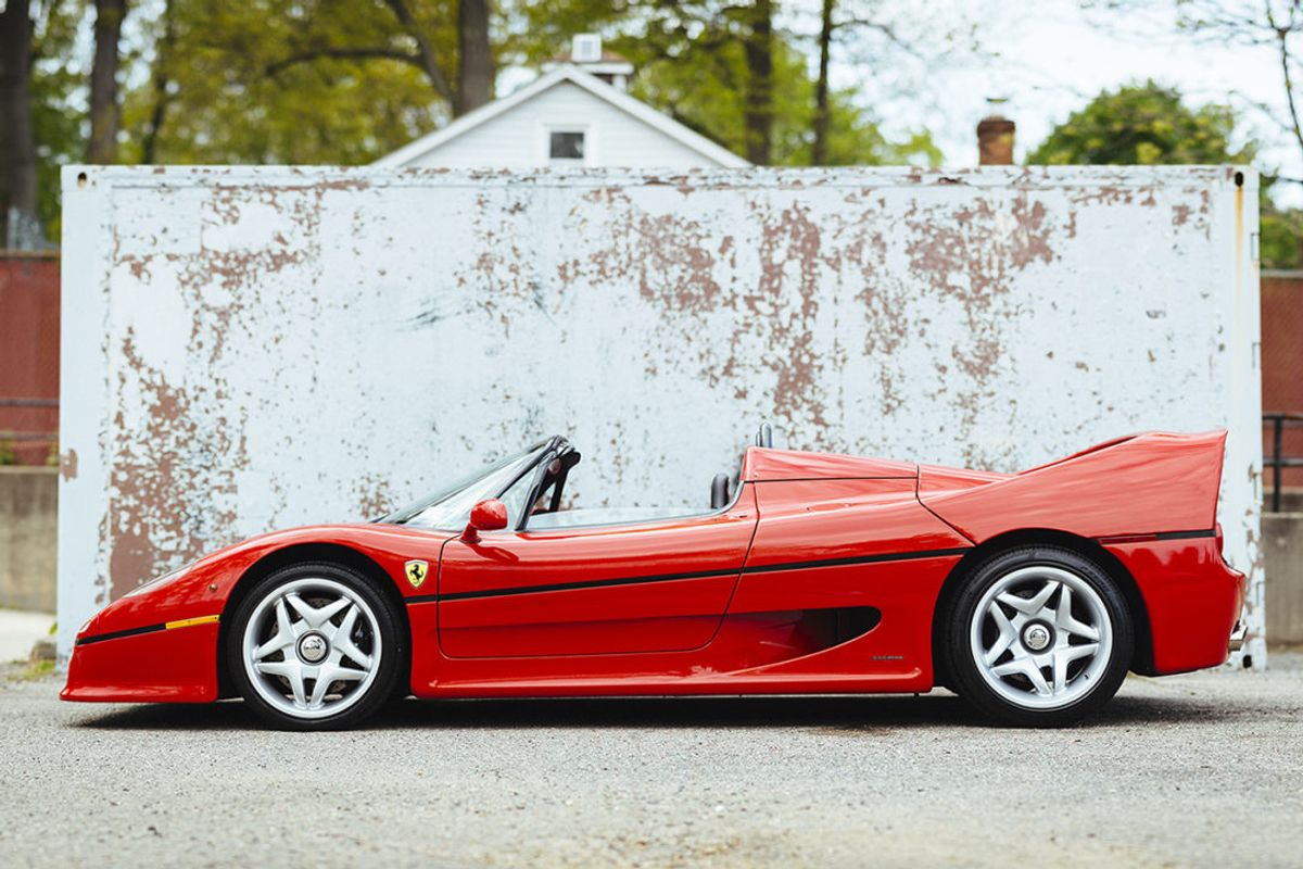 Worldwide confirms world's First Ferrari F50 on offer at Scottsdale auction