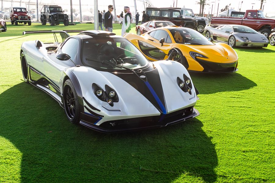 Pagani Zonda Riviera record auction price of $5.885m