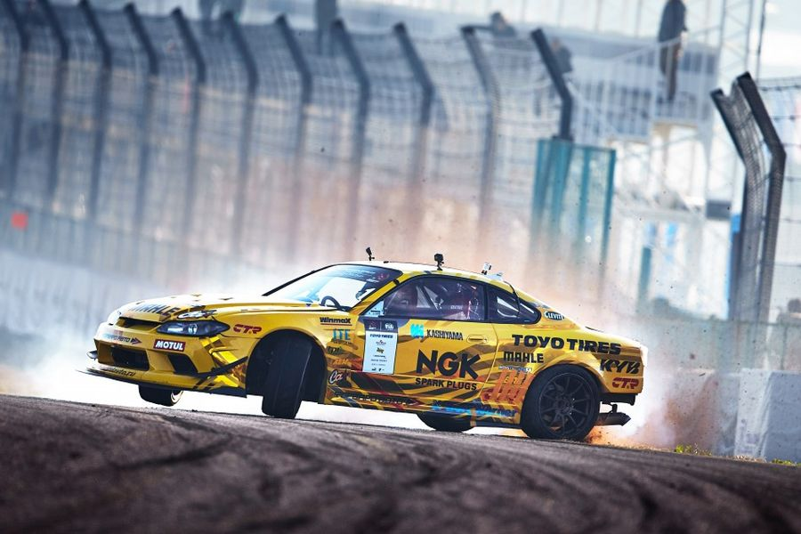 Georgy Chivchyan wins  consecutive Intercontinental Drifting Cup Trophy