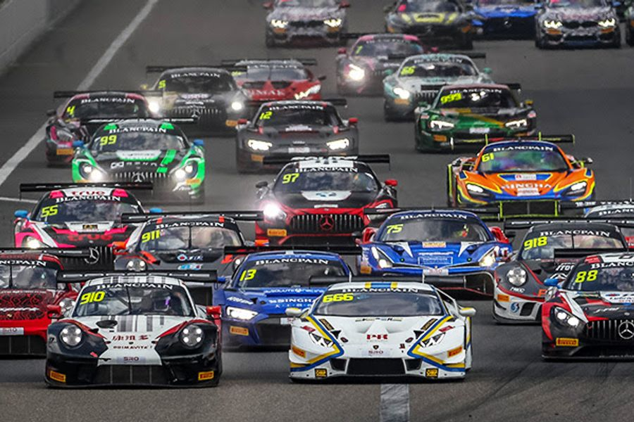 Shanghai 888 tops GT World Challenge Asia's revamped 2020 calendar