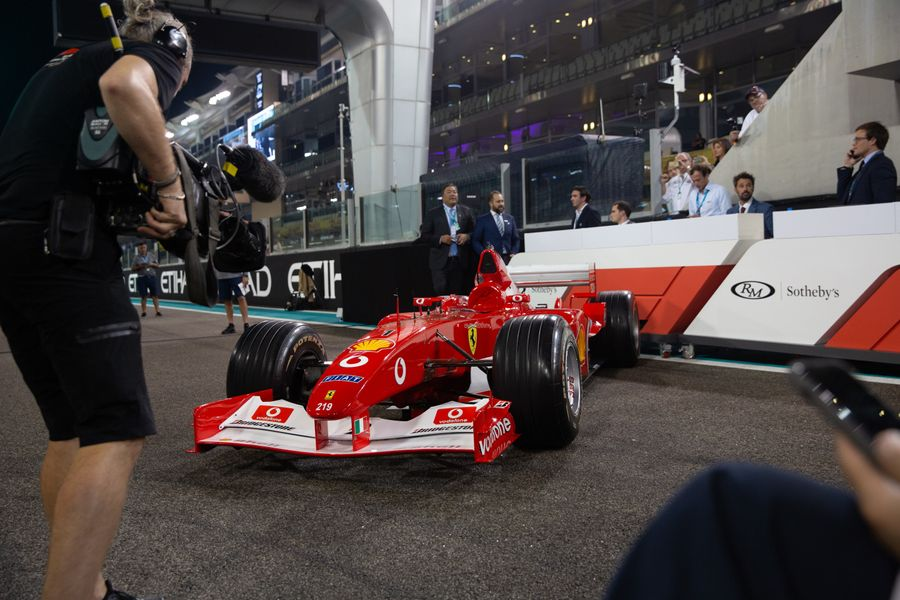$31.3 million auction success for RM Sotheby's at Abu Dhabi GP