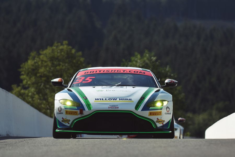 Optimum return to British GT with Connor O'Brien and Aston Martin