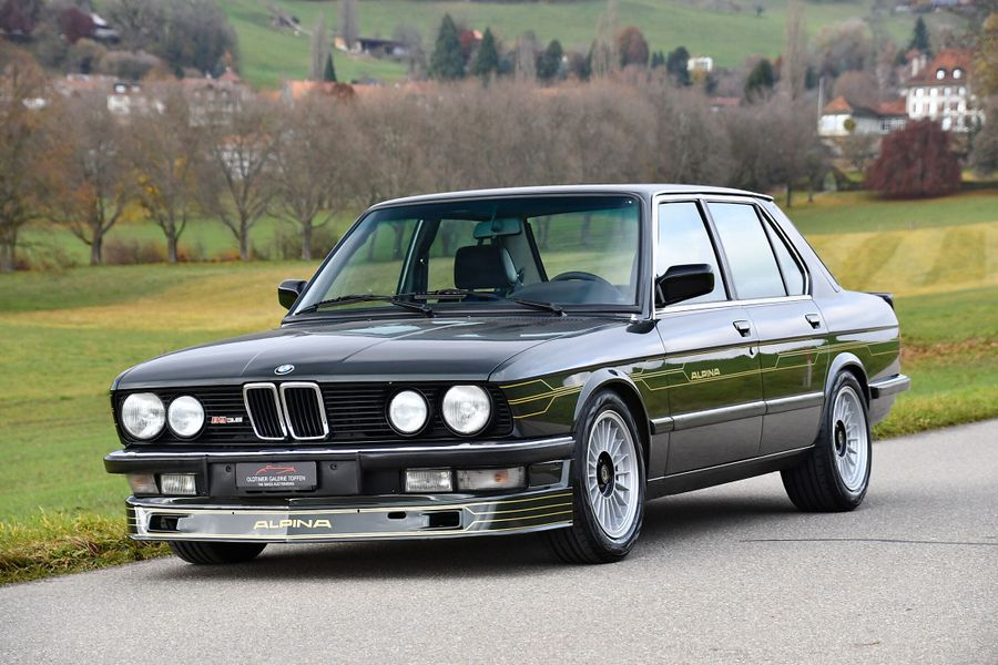 1985 Alpina B9 3.5 E28 on offer at Oldtimer Galarie Gstaad Auction