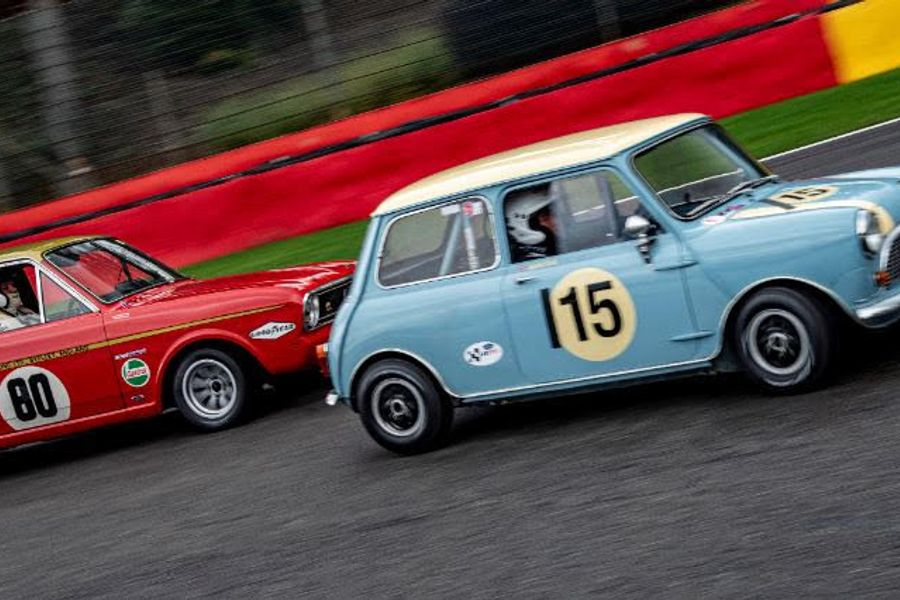 New late 60's touring car grid for Motor Racing Legends