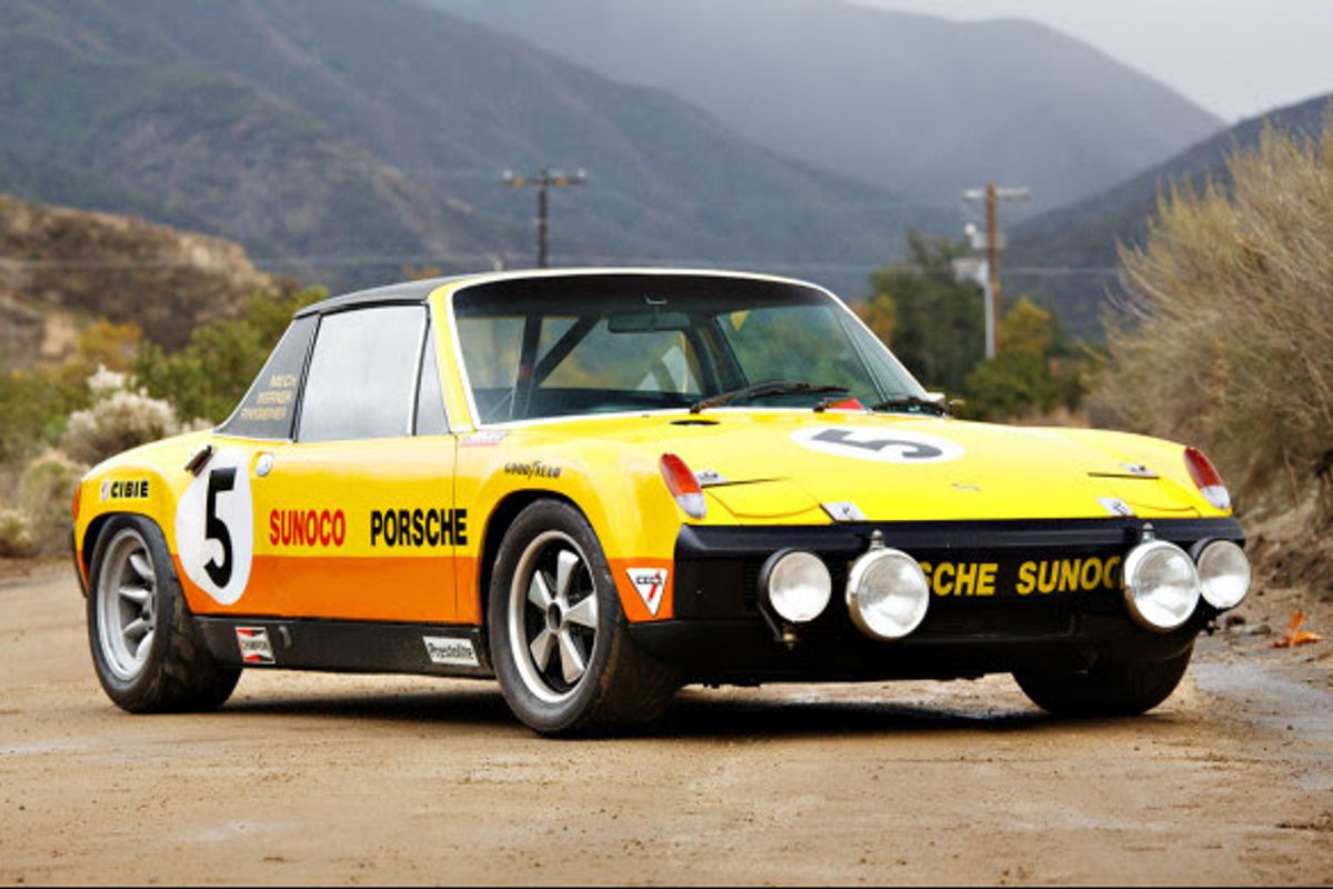 1970 Porsche 914/6 GT on offer at Goodings Scottsdale Auction