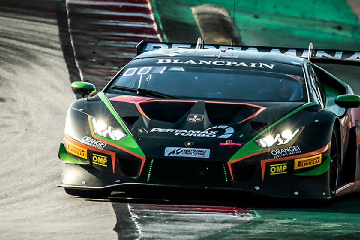 Lamborghini confirm full-season entry with ORANGE1 FFF Racing Team