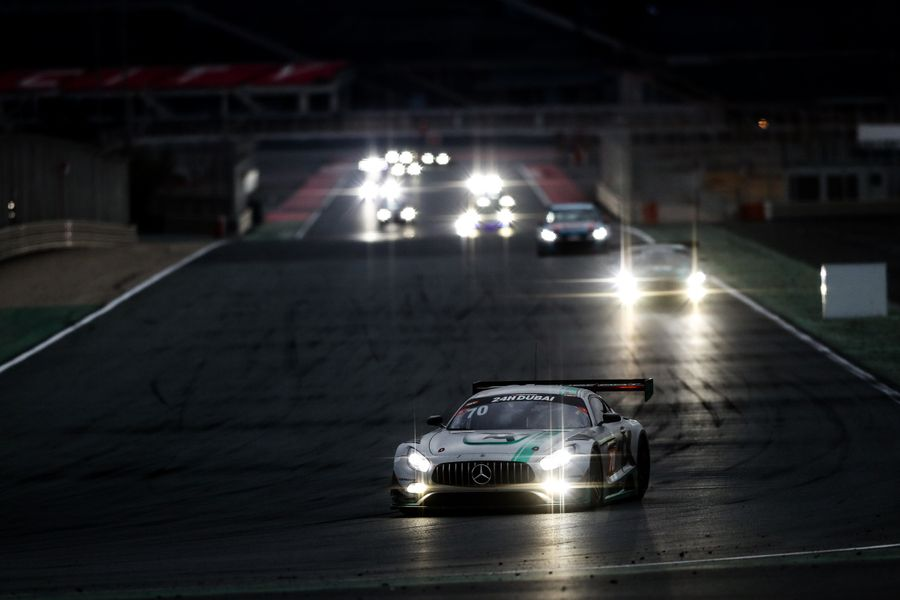 Successful Start To 2020 For Hutchison With Second In Class At Rain Lashed & Red Flagged Dubai 24 Hours