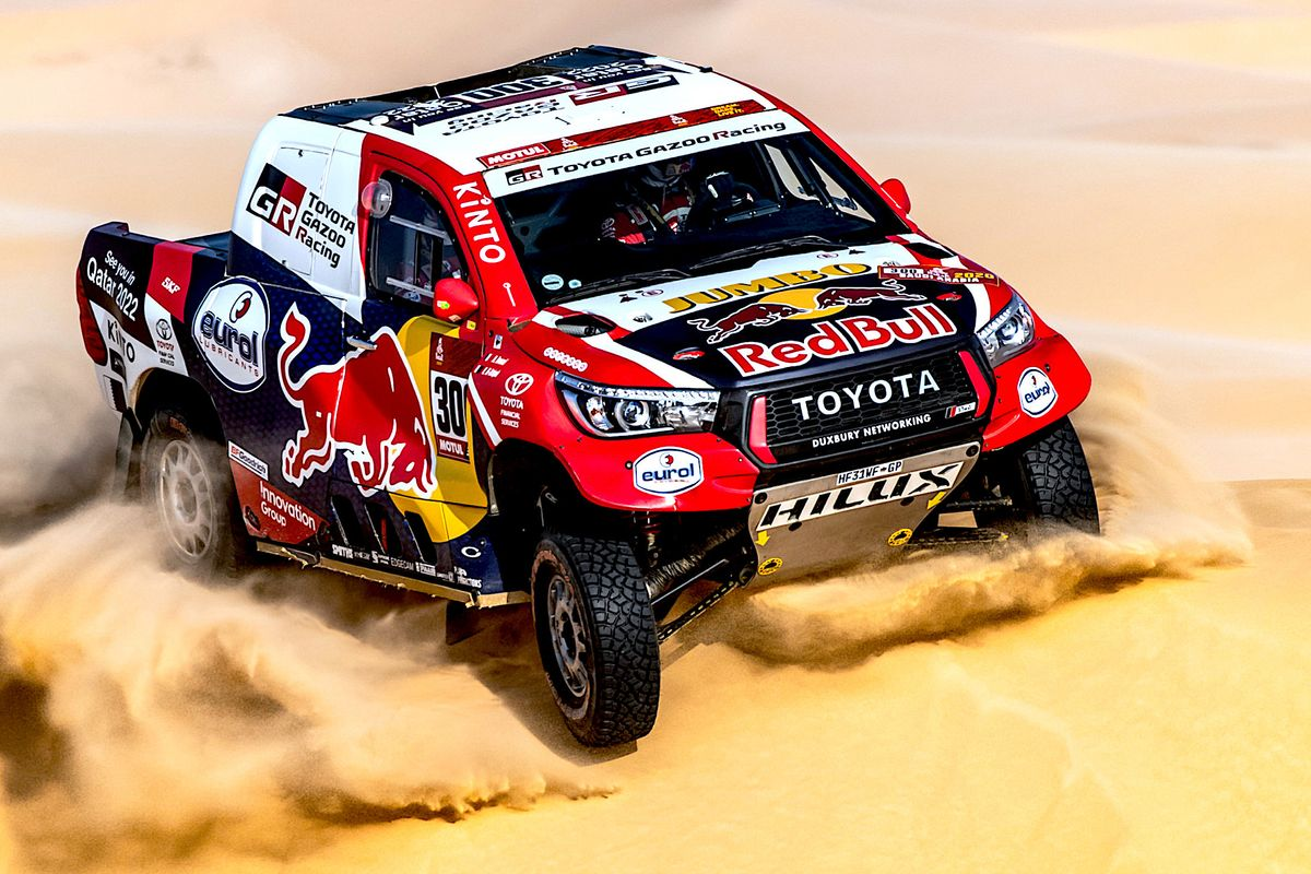 Close finishes in both  car and bike races on Dakar Day 11