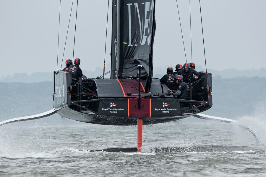 INEOS TEAM UK begins winter training in Cagliari ahead of ACWS