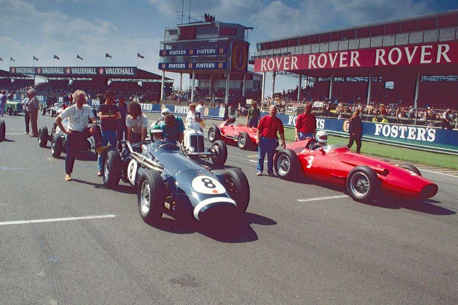 Silverstone Classic's 30th anniversary 'Greatest Hits' racecard