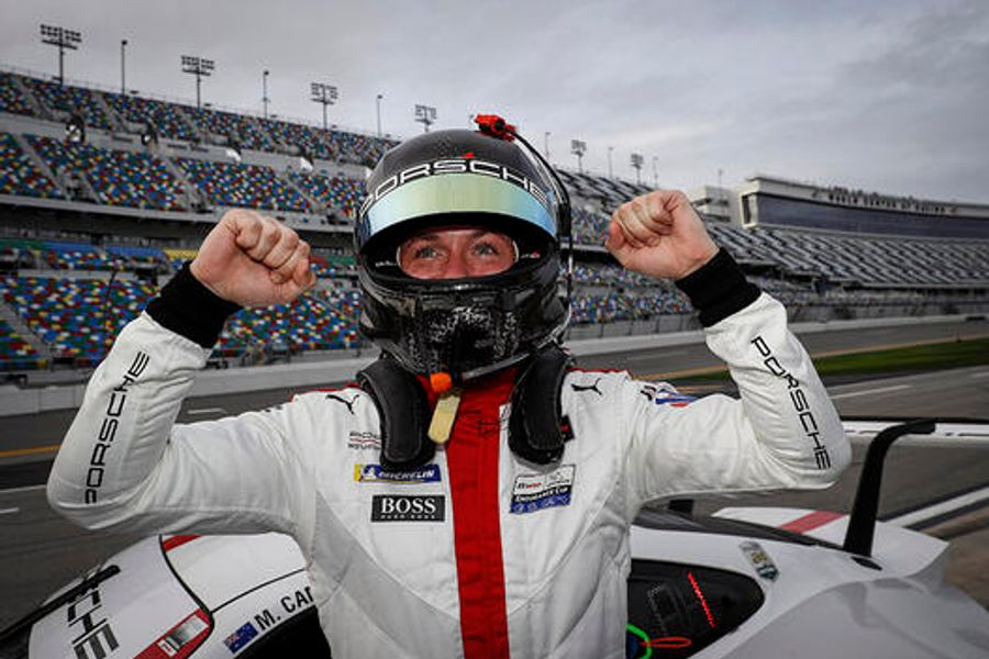 Porsche Sweeps GTLM Front Row for Rolex 24 At Daytona
