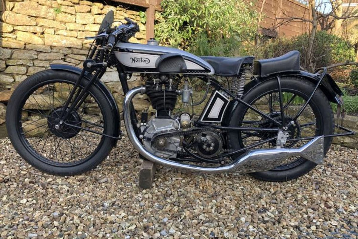 1930 Norton CS1 at H&H Classics National Motorcycle Museum auction
