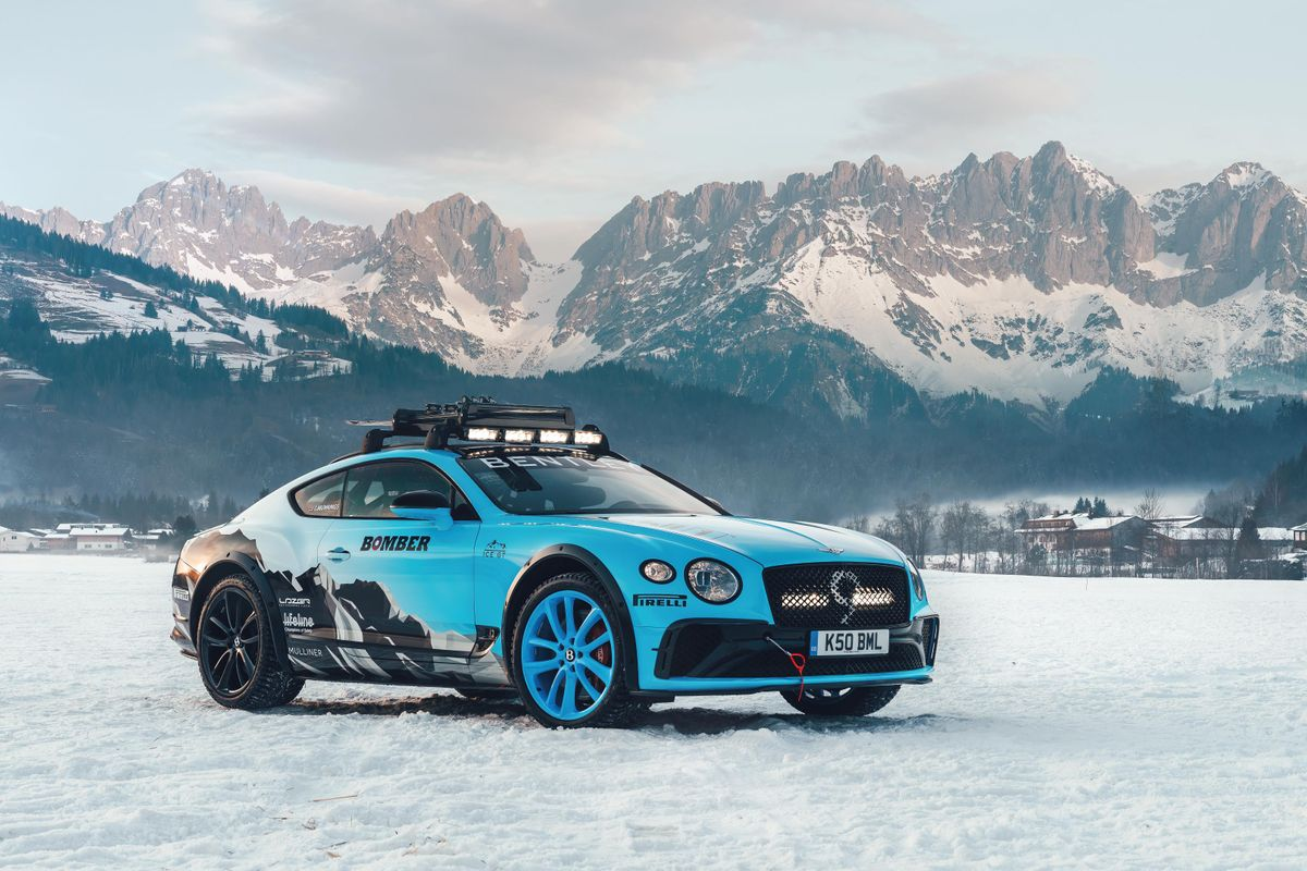 Bentley Continental GT to contest Zell GP Ice Race