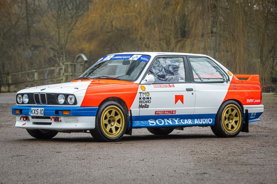Rally icons on offer at Silverstone Auctions Race Retro sale
