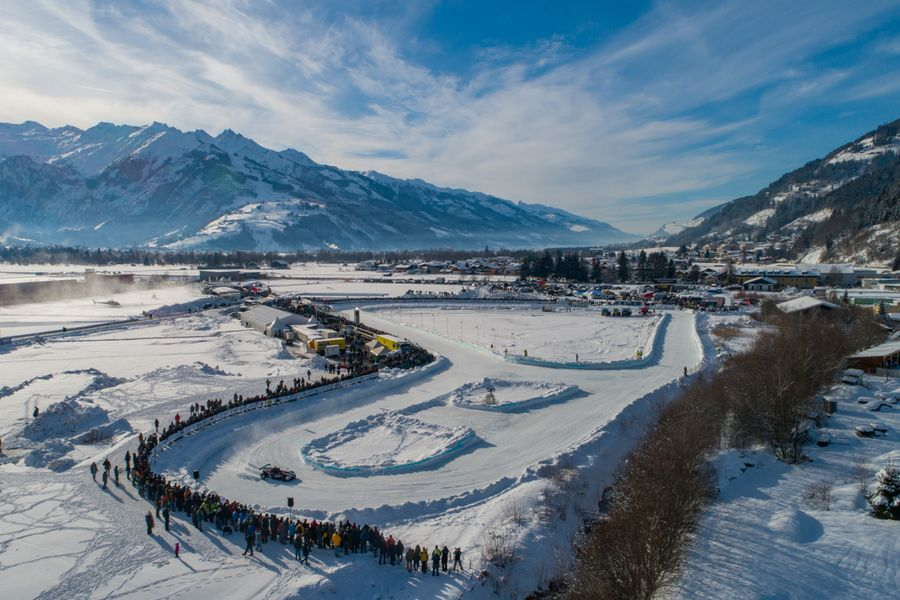 Volkswagen high performance line-up for Zell GP Ice Race