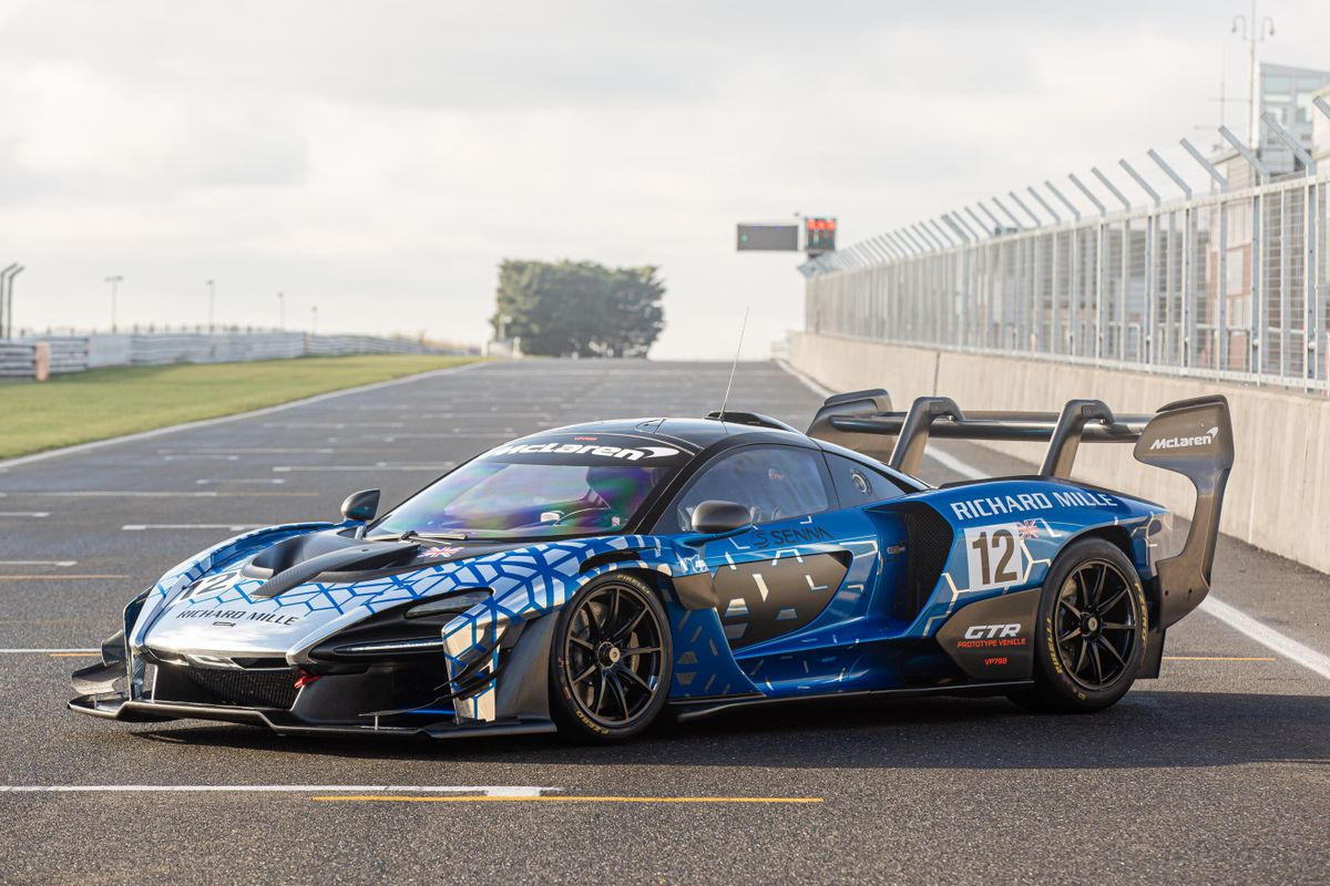 New McLaren Senna GTR to star at Retromobile on Richard Mille stand