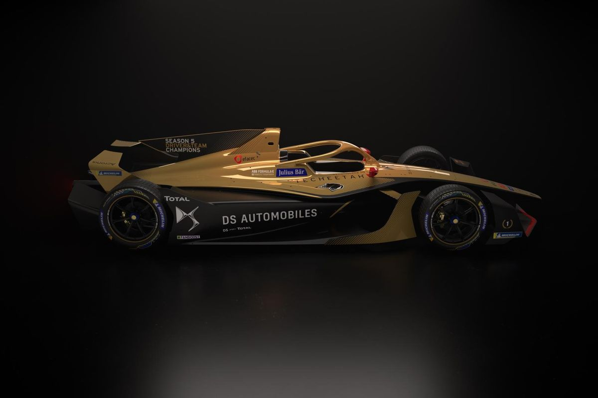 Formula E  Champ DS Techeetah  design reveal