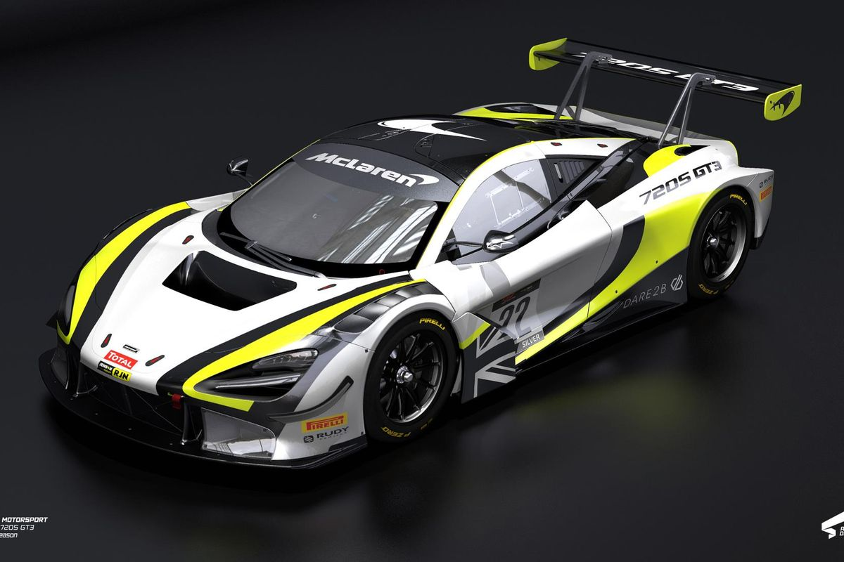 Jenson Team Rocket switches to the McLaren 720S GT3 for 2020 season