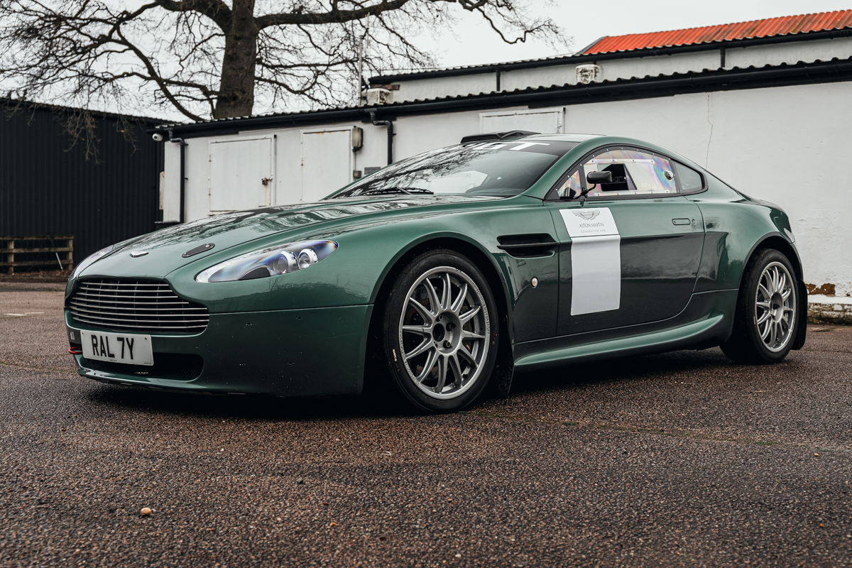 2 Of 4 Aston Martin Vantage Rally Gt Cars Built By Prodrive On Offer Historic And Market News Racecar Creative Digital Solutions
