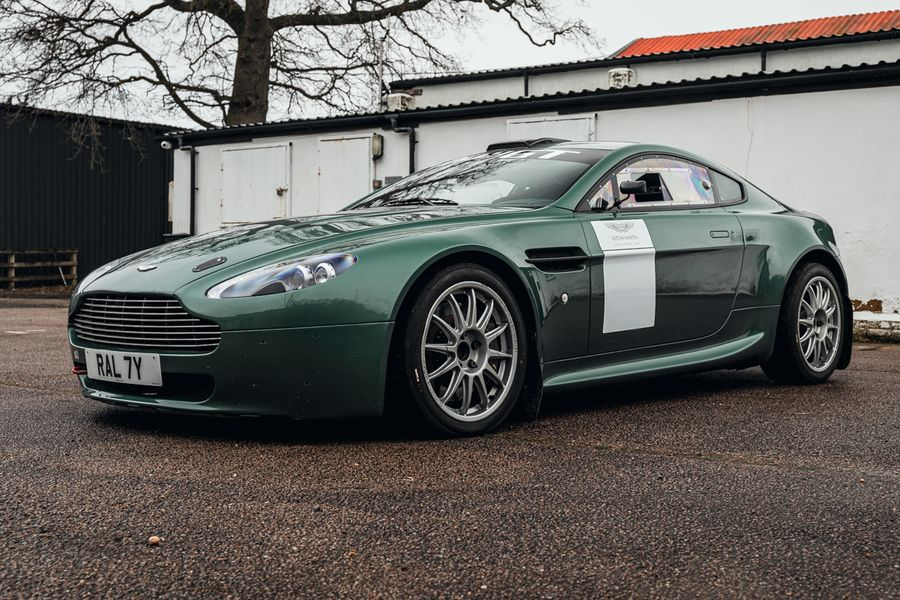 2 of 4 Aston Martin Vantage Rally GT cars built by Prodrive on offer