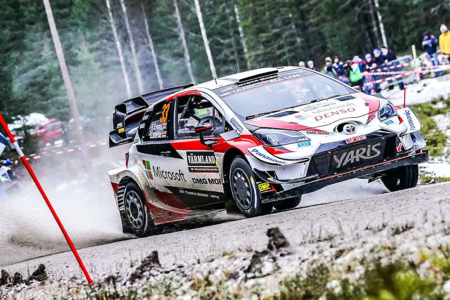 Evens pulls further ahead on Rally Sweden