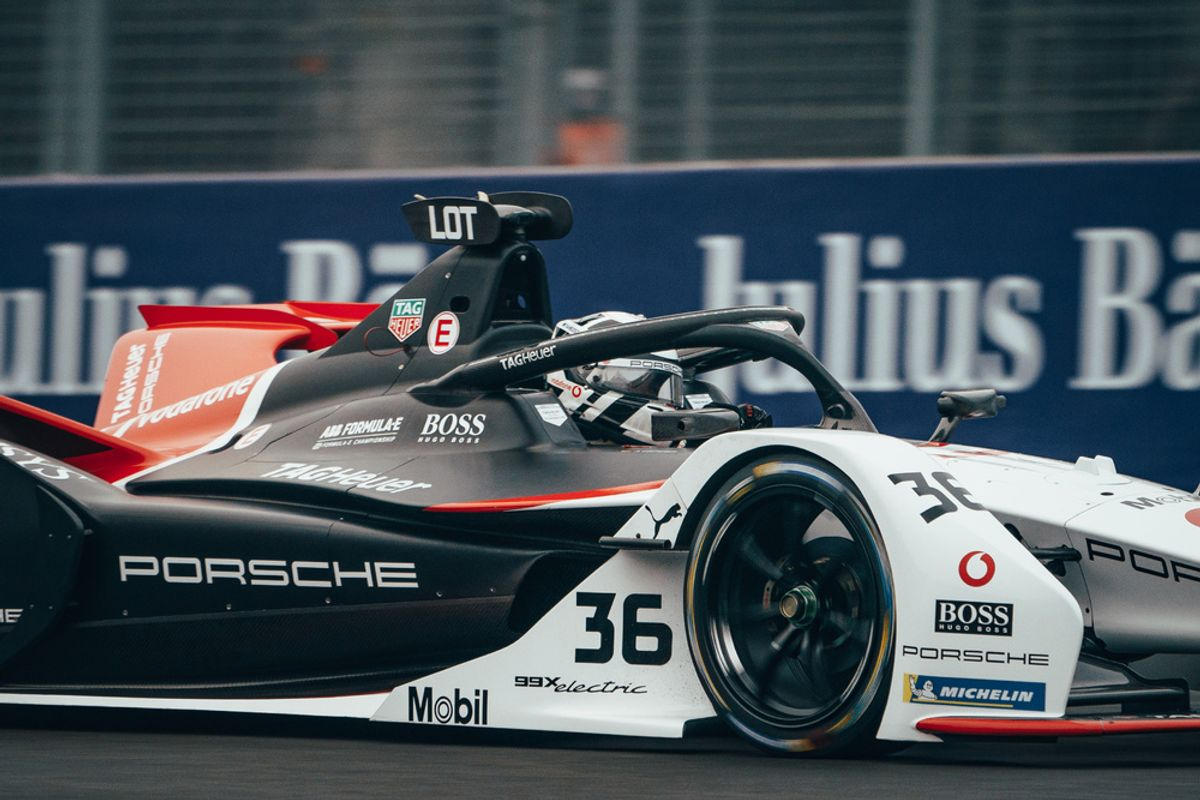 Disappointment for Porsche after scoring pole for Mexican E-Prix
