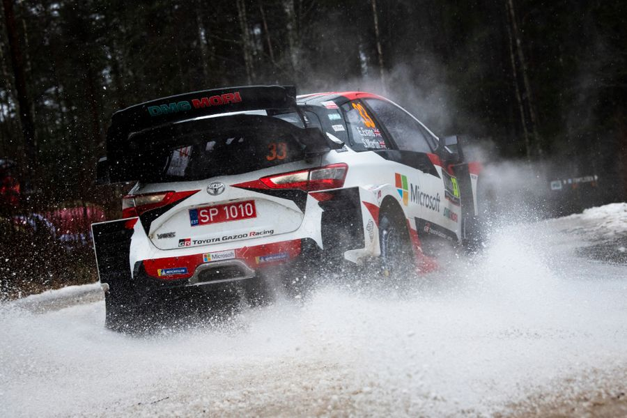 Elfyn Evans seals Rally Sweden victory to secure 2020 title lead