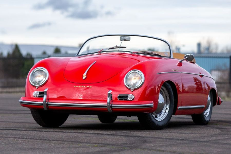 1955 Porsche 356 Pre-A Speedster at Mecum's Glendale auction