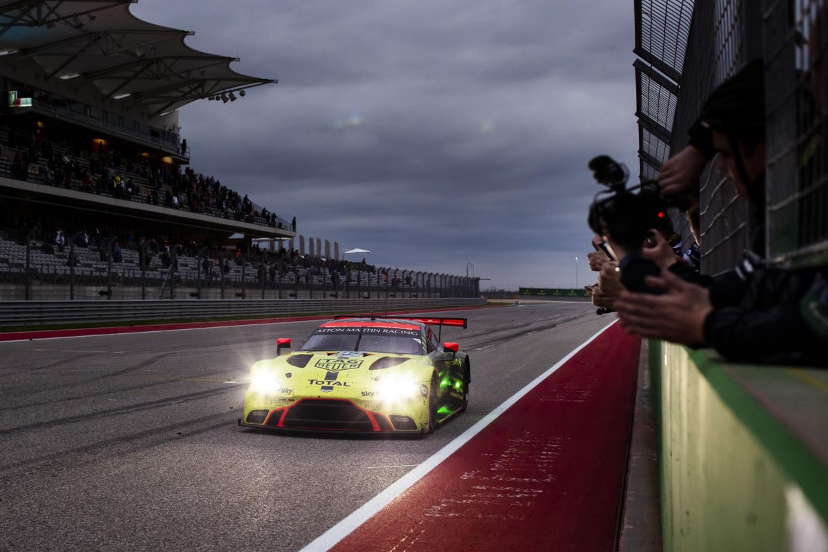 Aston Martin Racing delivers third WEC GTE Pro win of the season, at COTA