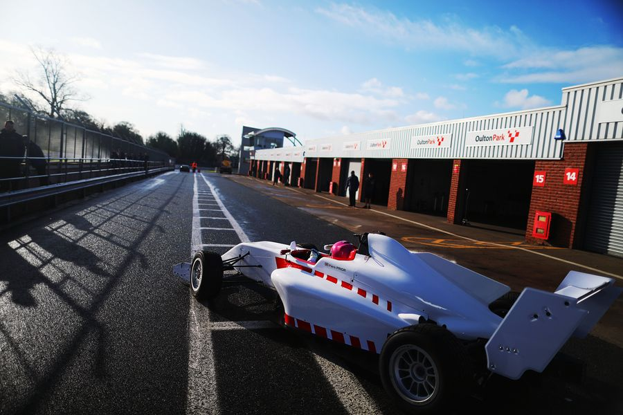 Piers Prior with Lanan Racing for BRDC British F3 campaign