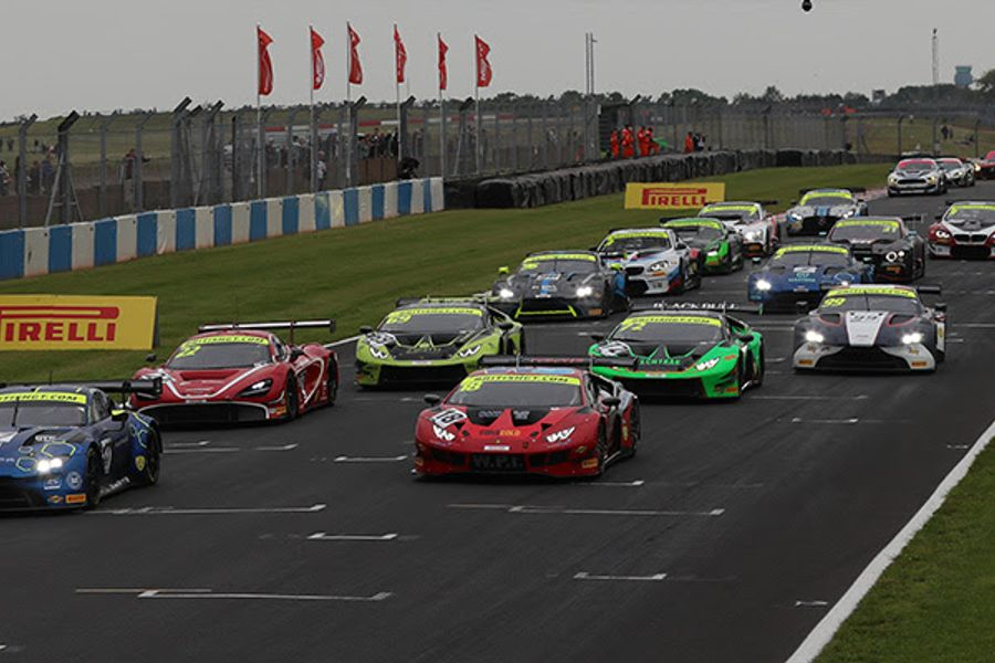 British GT reveals capacity 35-car full-season entry