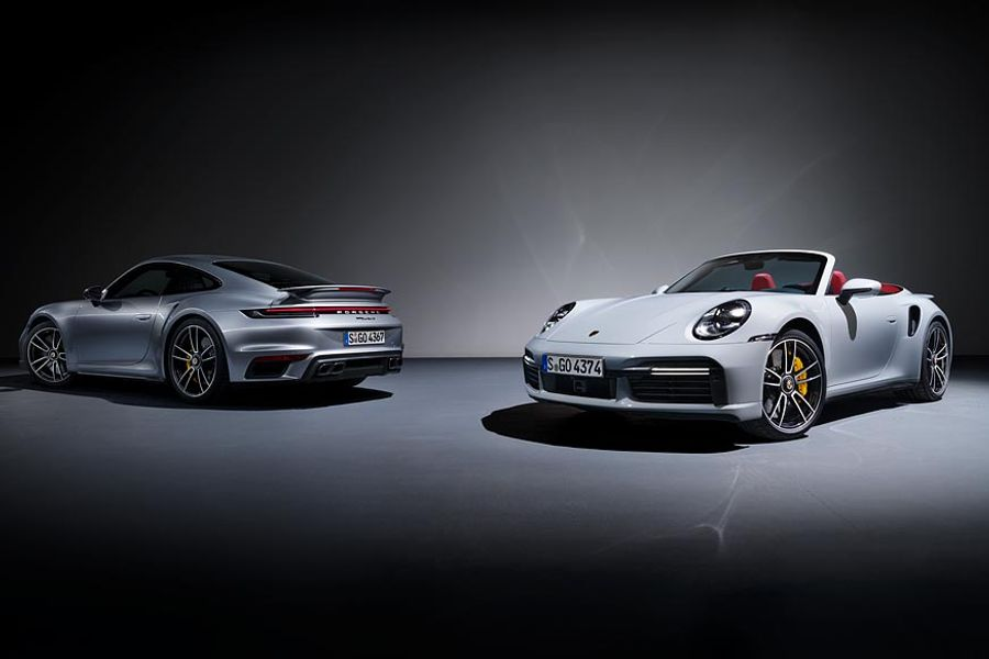 911 Turbo S model with 650 PS and all-wheel drive joins Porsche family