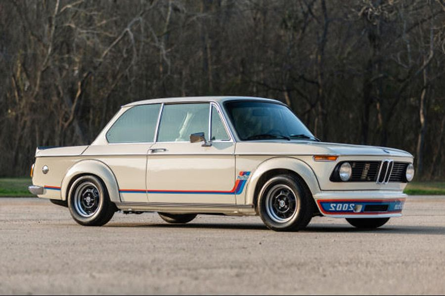 Immaculate 1974 BMW 2002 Turbo offered without reserve
