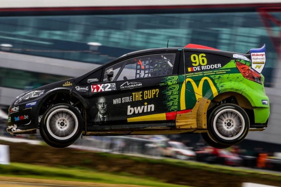 World RX star De Ridder to make ice racing debut with OMSE