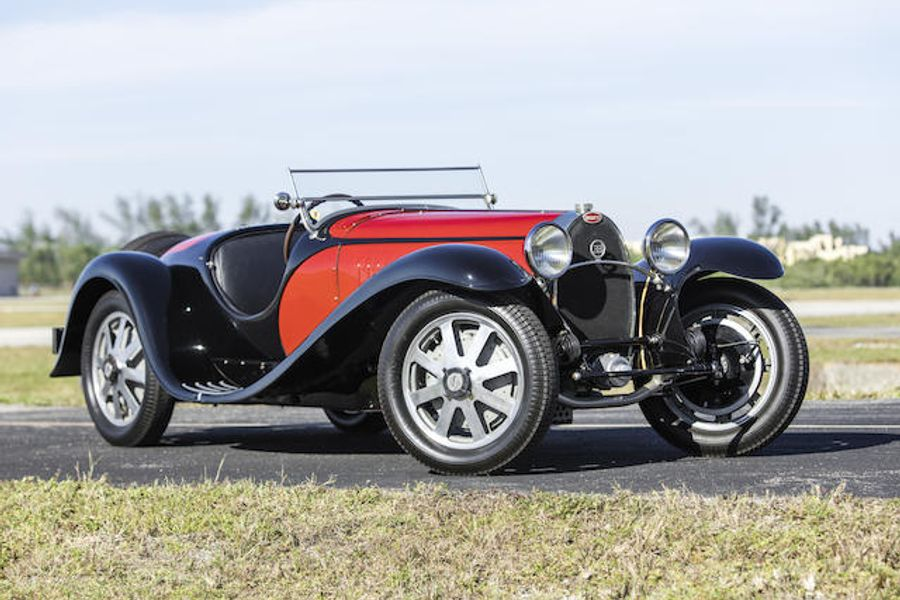Bugatti Type 55 Roadster sold for £5.5m at Bonhams Amelia Island, results
