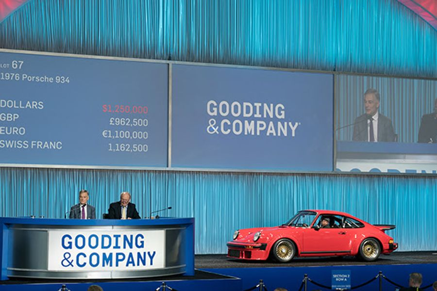 Porsches and Ferraris Shine at Gooding's Amelia Island auction
