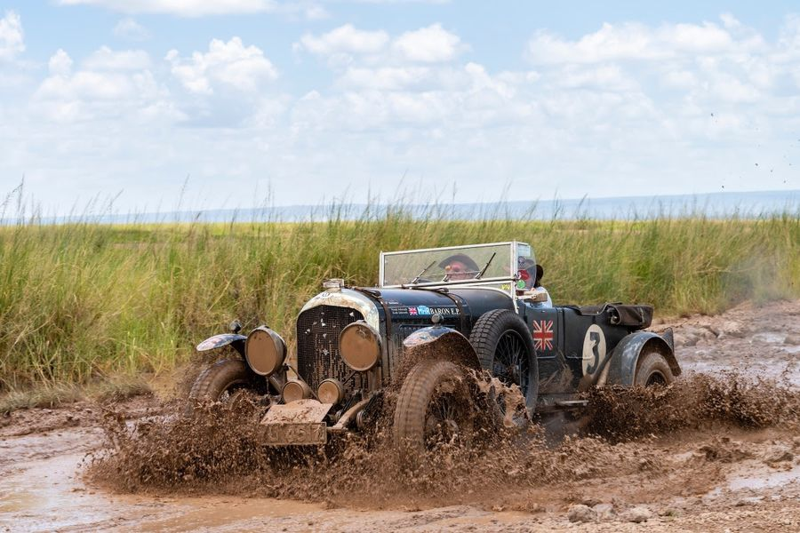 Bentley wins Rally the Globe East African adventure