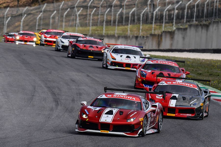 Ferrari Challenge Europe postpones two events