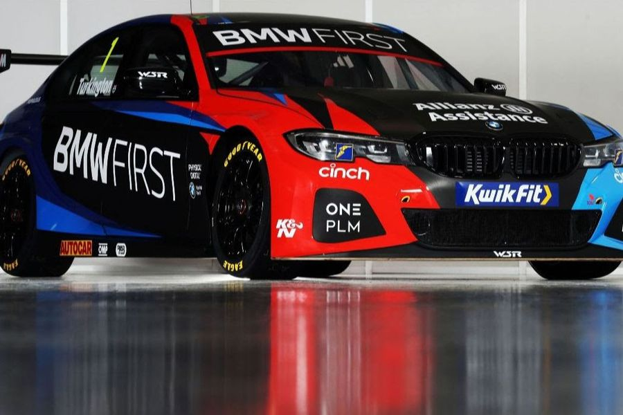 New season, new colours for BMW's BTCC challenger